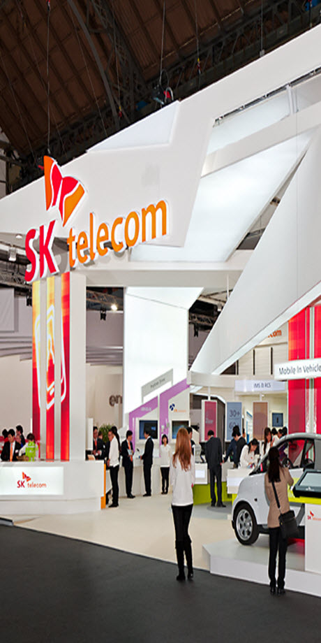 SK telecom Mobile WORLD Barcelona